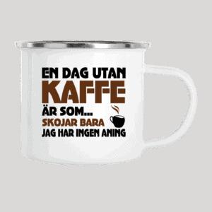 En dag utan kaffe